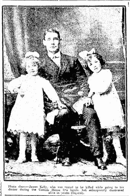 jas-kelly-cork-ex Burning of Dublin Custom House 1921