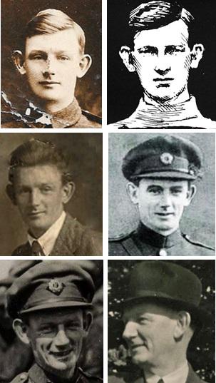 tom-ennis-collage Burning of Dublin Custom House 1921