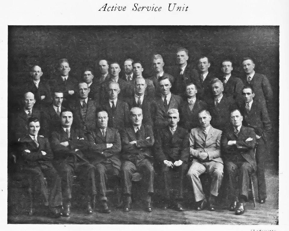 ASU 1939 pic cleaned up Burning of Dublin Custom House 1921