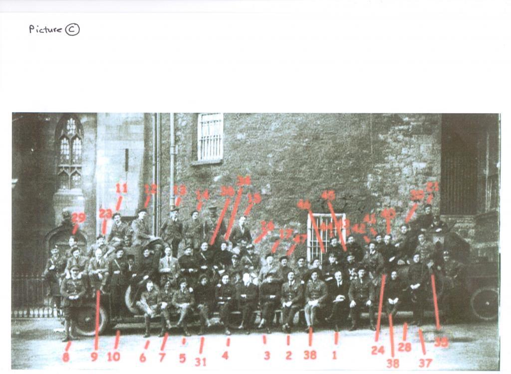 Sparrow 11,Igoe 46 Burning of Dublin Custom House 1921