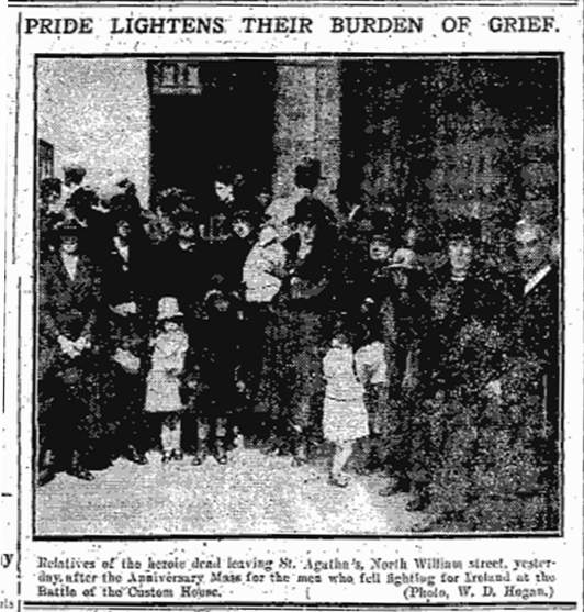 CH IRA KIA rellies(FJ 26 May 1922) Burning of Dublin Custom House 1921