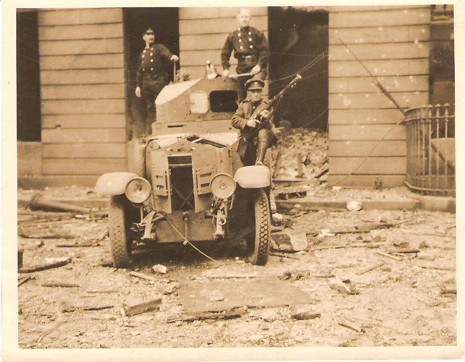 Cw1 Burning of Dublin Custom House 1921