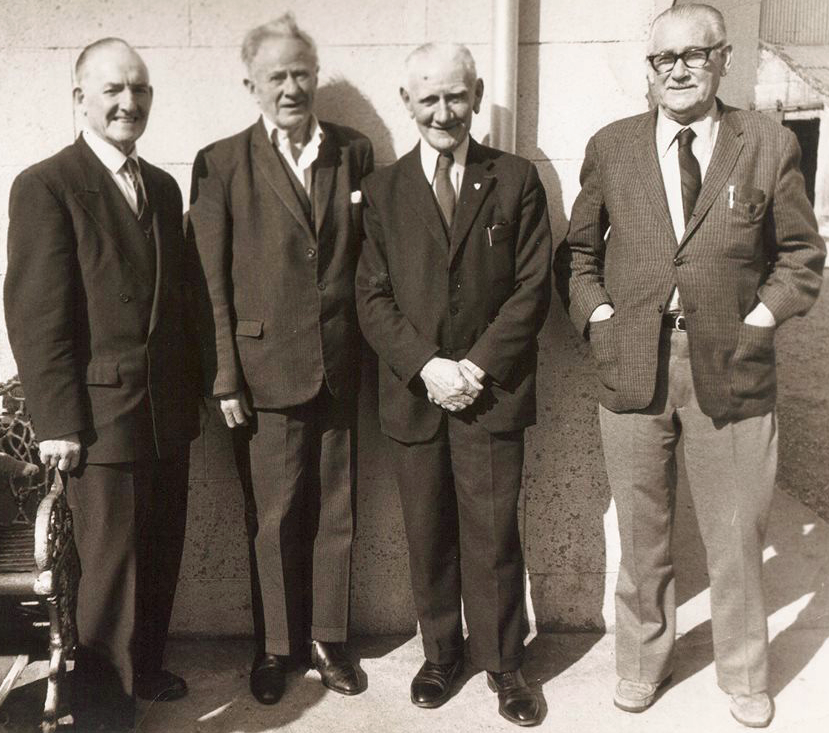 Jim Slattery, Vinnie Byrne & Jim Conroy Burning of Dublin Custom House 1921