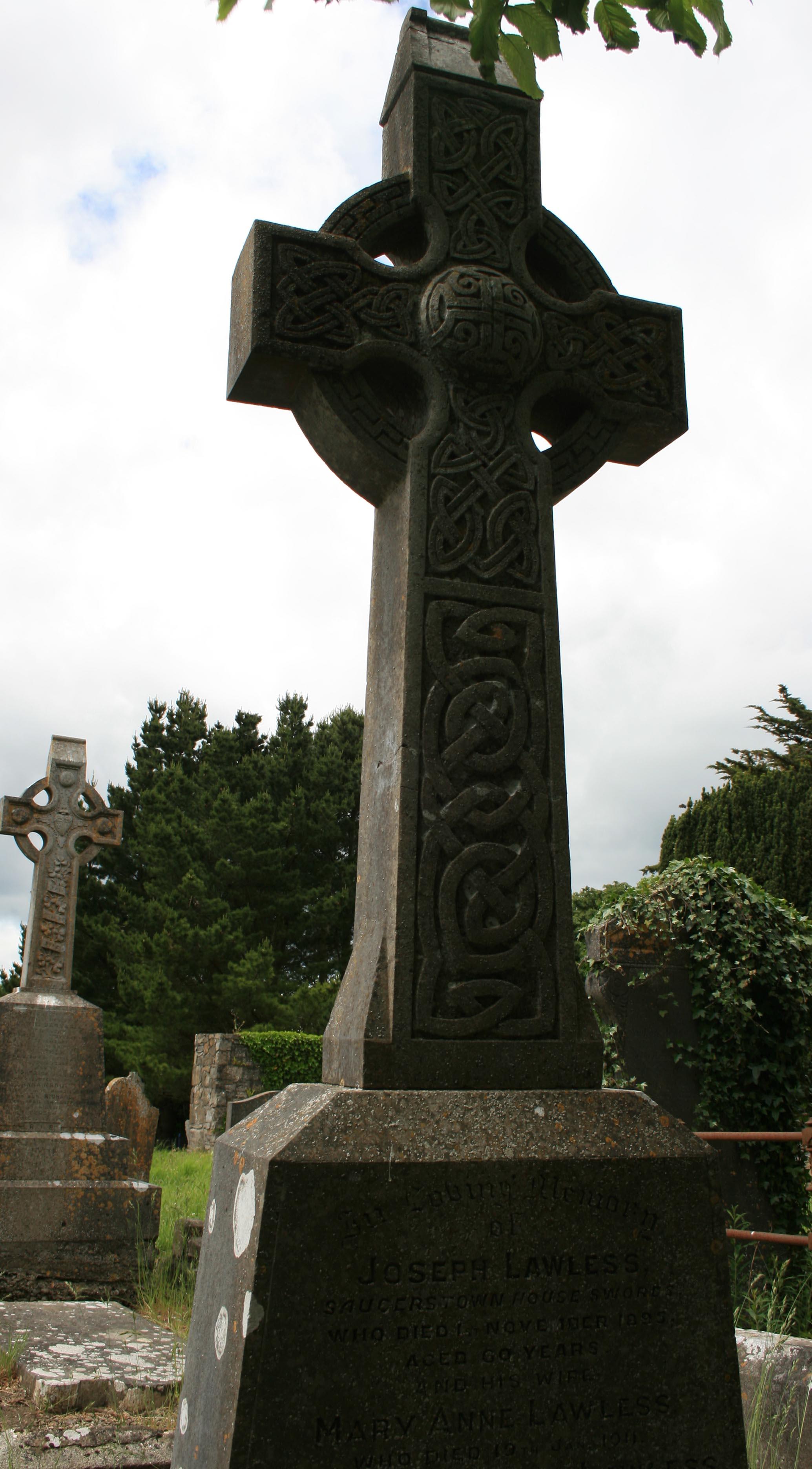 Lawless Headstone