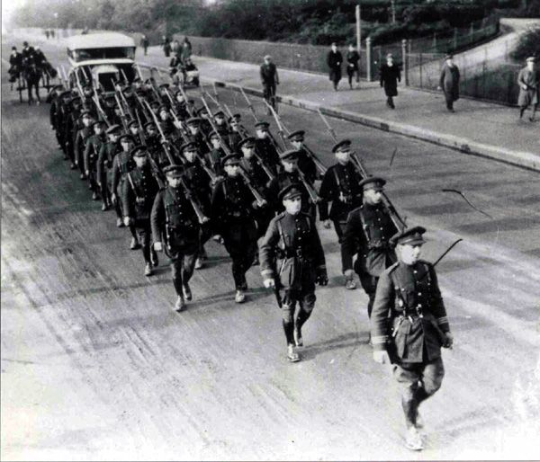 First_Brigade_Army Burning of Dublin Custom House 1921