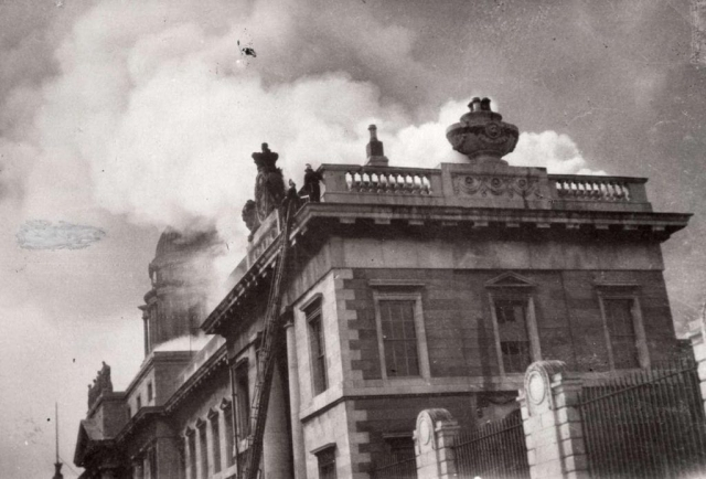 Burning of the Dublin Custom House