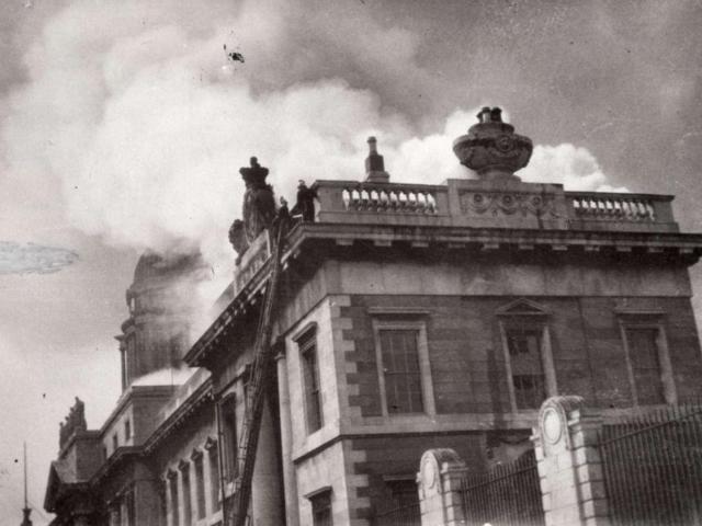 Burning of the Dublin Custom House