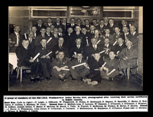 Burninf of Dublin Custom House 1921