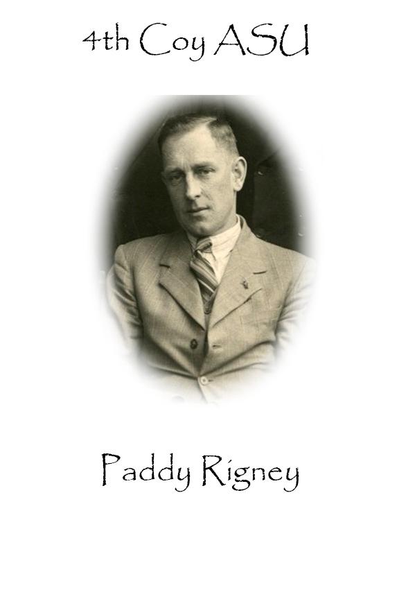 Paddy Rigney Custom House Burning