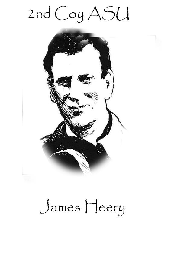 James Heery Custom House Burning