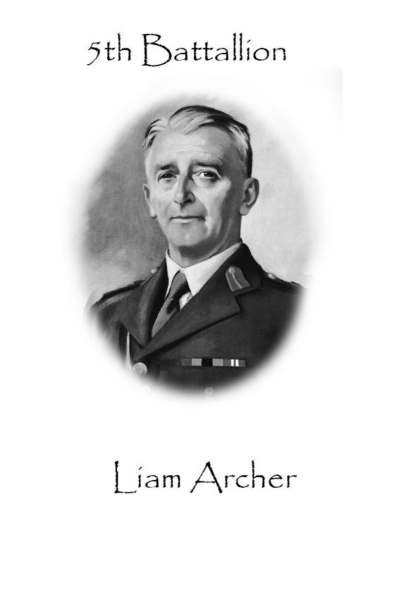 Liam Archer Custom House Burning