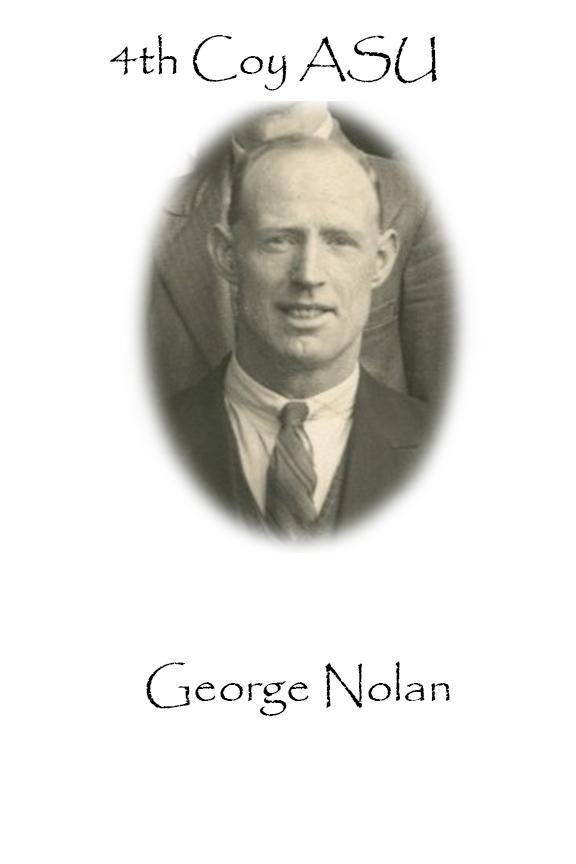 George Nolan Custom House Burning