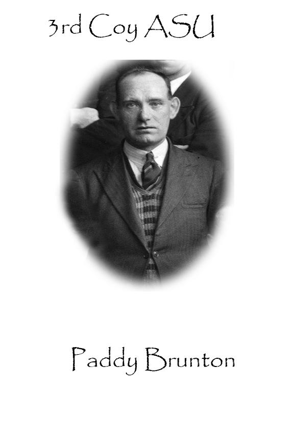 Paddy Brunton Custom House Burning