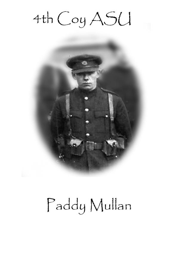 Paddy Mullan Custom House Burning
