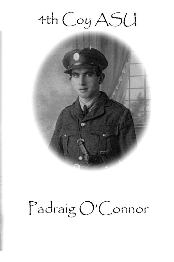 Padraig O'Connor Custom House Burning