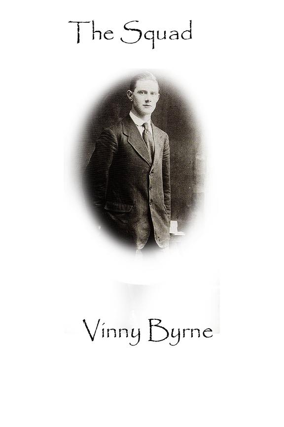 Vinny Byrne Custom House Burning