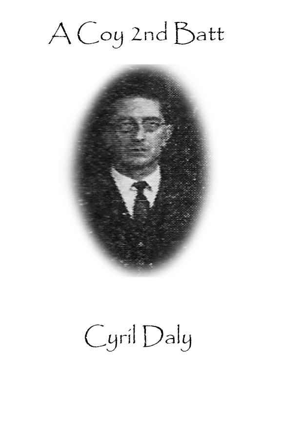 Cyril Daly Custom House Burning