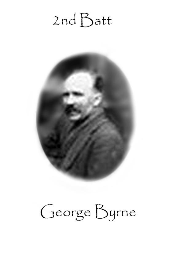George Byrne Custom House Burning