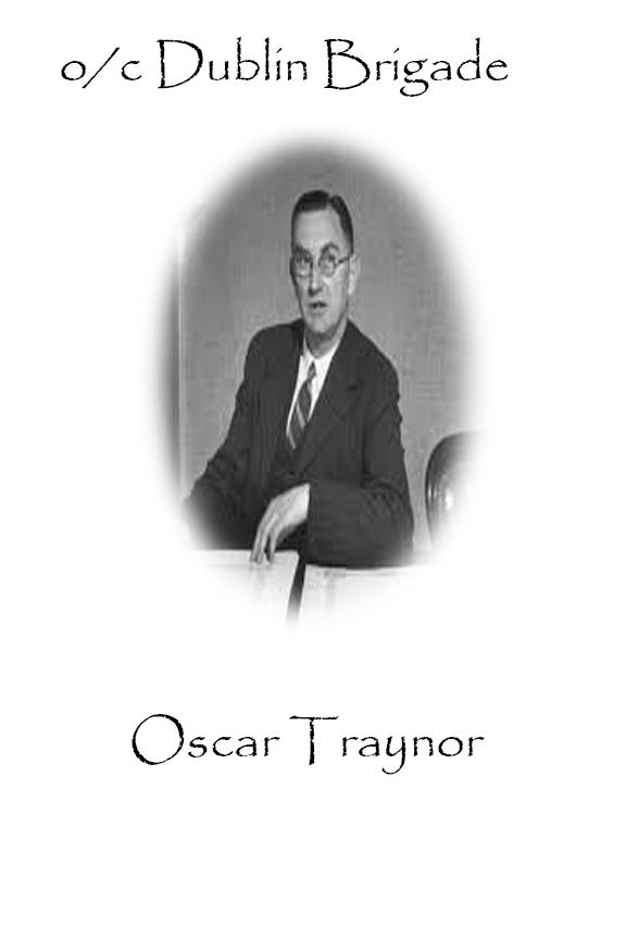 Oscar Traynor Custom House Burning