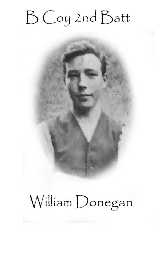 William Donegan Custom House Burning