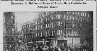 Centenary – Raid on the Custom House, 1920.