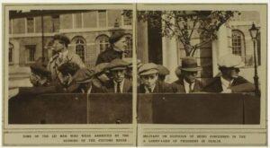 Burning of the Dublin Custom House 1921