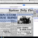 Custom House Burning