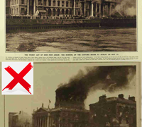 Centenary of the Custom House Burning – not the Four Courts!